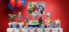 decoração festa herois marvel - Pesquisa Google