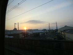 glow of sunset