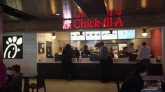 Chick-Fil-A located in the main terminal food court  #cleveland #airport #hopkins  http://www.clevelandairport.com/
