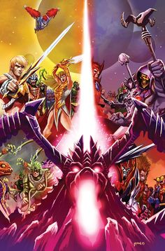 HE-MAN: THE ETERNITY WAR #9 Written by DAN ABNETT Art and cover by POP MHAN