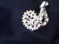 Rhinestone Swirl Pin