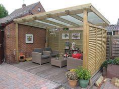 Backyard shade structure covered patios 50 Ideas for 2019 Backyard Shade, Backyard Patio Designs, Backyard Landscaping, Pergola D'angle, Corner Pergola, Modern Pergola, Black Pergola, Steel Pergola, Carport Designs