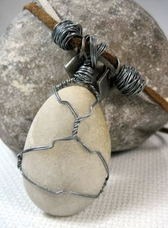 wire wrapping stone - Google Search