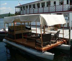 Repurpose an old pontoon