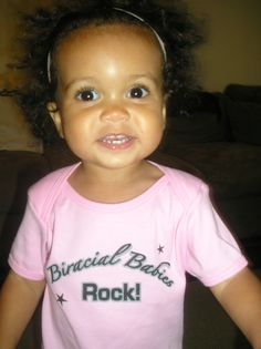Biracial Babies Rock...my babies are gonna rock this! This is cute! !