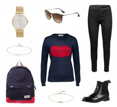 #Herbstoutfit Sportlicher Chic ♥ #outfit #Damenoutfit #outfitdestages #dresslove