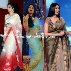 Sridevi in sarees Indian Bridal Lehenga, Indian Sarees, New Saree Blouse Designs, Indian Outfits, Indian Clothes, Lehenga Suit, Party Sarees, Indian Princess, Dressing Sense