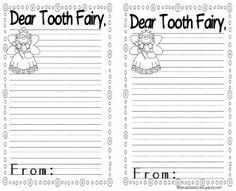 tooth fairy writing template - 1000 images about tooth fairy on pinterest tooth fairy