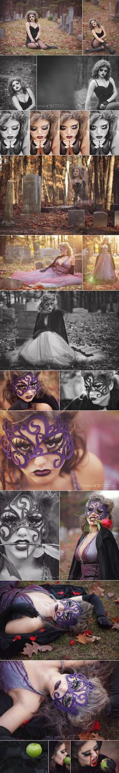 Mid Michigan Photography Halloween Photoshoot | Still one of my favorite shoots ever!!