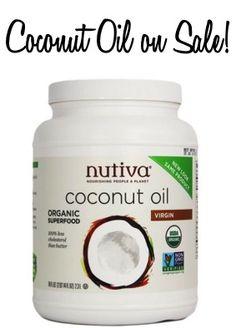 Coconut Oil on Sale