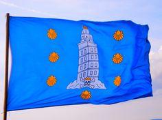 Bandeira da Coruña