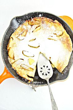 Apple Cinnamon Dutch Baby perfect for a weekend breakfast or brunch