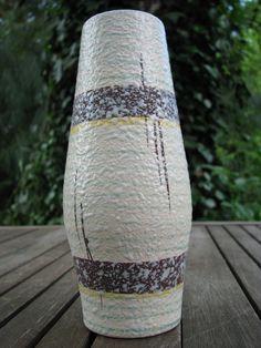 Vintage Vase – Bay Keramik No. 855-20 – Fat Lava – 1950s – Mid Century Modernist – WGP von everglaze auf Etsy