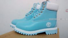 Timberland Women 6 Inch Premium Boots Baby-Blue Cheap Sale $ 73.00