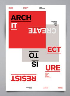 Resist is to create - architecture - edricureel