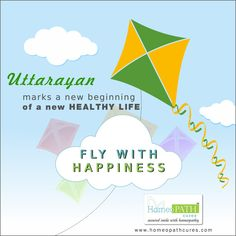 Uttarayan marks a new beginning of a new healthy life! Let fly with happiness in your life today. Team HomeopathCures wishes you a Happy Makar Sankranti, Doctor In, Homeopathy, New Beginnings, Pediatrics, Arthritis, Clinic, Healthy Life, Wish