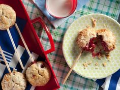 These mini, portable Berry Pie Pops are as much fun as they are delicious, and they make the perfect picnic basket addition. Sub in whatever fruit fillings you'd like!