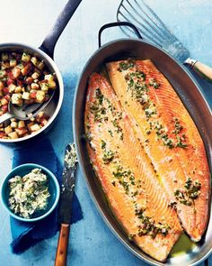 Slow-baked Arctic char with crisp potatoes - The Globe and Mail