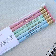 fun pencils
