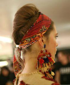 Inspiração: lenço na cabeça   Dia de Beauté