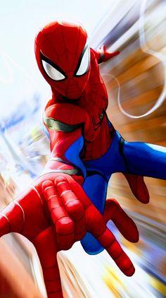 Peter Parker - Spider-Man, Into the Spider-Verse - Marvel Comics Marvel Comics, Marvel Art, Marvel Memes, Marvel Avengers, Spiderman Drawing, Spiderman Art, Amazing Spiderman, Spiderman Pictures, Marvel Wallpaper