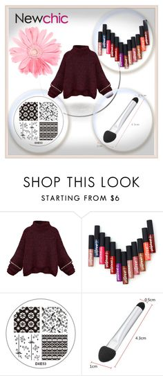 """""""Newchic"""" by aida-fashion ❤ liked on Polyvore featuring beauty"""