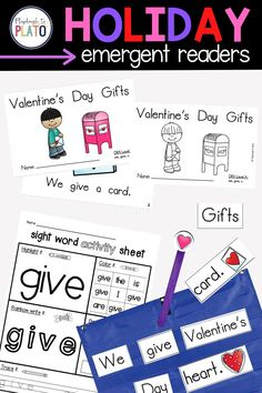 Looking for festive holiday emergent readers to help students build a strong foundation of reading skills? Here we feature our Valentines emergent reader activity. A great addition to your Valentine's Day lesson plans for Pre-K and Kindergarten students. Guided Reading Activities, Literacy Activities, Literacy Centers, Reading Comprehension Strategies, Emergent Readers, Cvc Words, Kindergarten Literacy, Word Families, Reading Skills