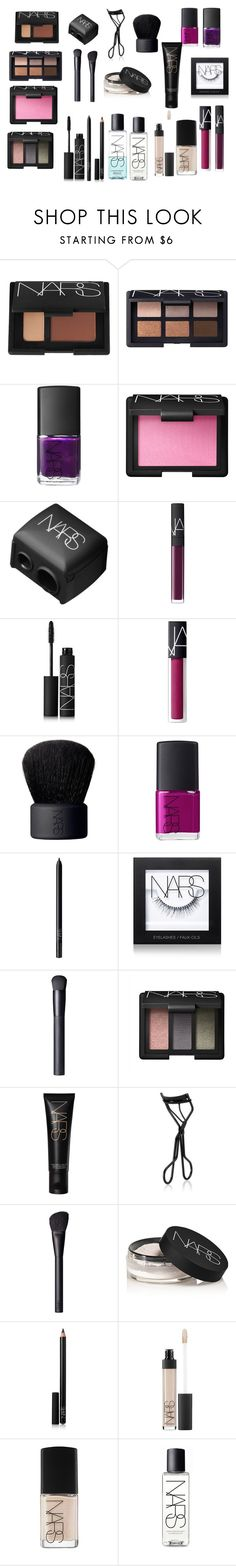 """""""Holiday Gift Guide: Beauty Faves"""" by black-on-white ❤ liked on Polyvore featuring beauty, NARS Cosmetics, giftguide, Beauty, NARS and cosmetics"""