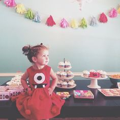 LOVE the Muno dress!  Happy 2nd birthday my little Iris Adella Gill! by sarahfortune, via Flickr