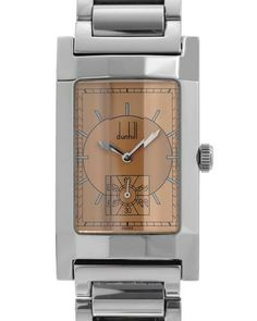 dunhill square facet tank watch timepieces watches dunhill swiss quartz movement men s watch