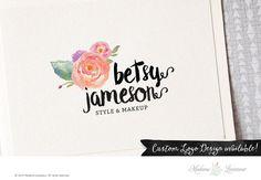 SALE premade logo design #wordpress #blog #website fashion logo jewelry logo business logo
