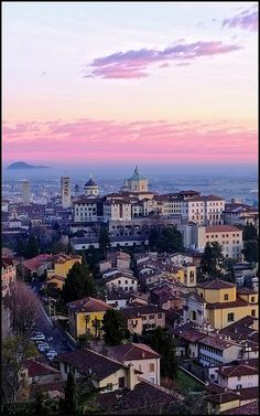 Città Alta - Bergamo - ITALY...my husbands family is from here. We must visit!