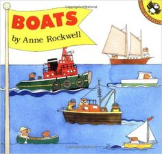 Boats (Picture Puffin Books): Anne Rockwell: 9780140549881: Amazon.com: Books
