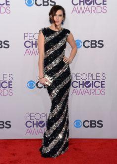 People's Choice Awards Red Carpet: Rumer Willis arrived at the People's Choice Awards.
