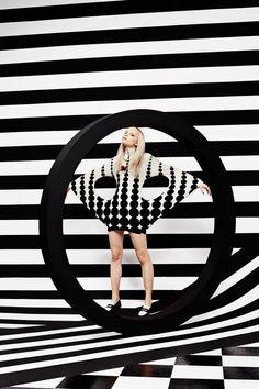 © JUCO Photo (Julia Galdo and Cody Cloud) | Op Art (Schön! Magazine) | Fashion Photography