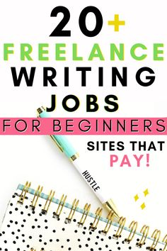 Freelance Writing Jobs Online for Beginners – Work from Home on Sites That Pay! Freelance Writing Jobs Online For Beginners Work From Home Websites That Pay Money Earn Extra Money Side Hustle Writing Sites, Online Writing Jobs, Freelance Writing Jobs, Online Jobs, Article Writing, Freelance Online, Freelance Sites, Online College, Blog Writing