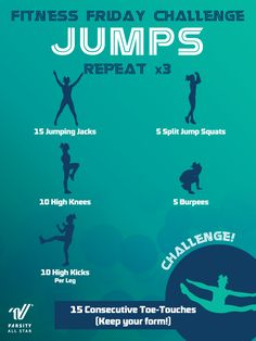 Challenge yourself and improve your jumps!
