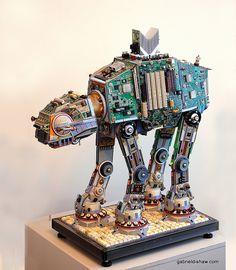 Gabriel Dishaw, Upcycled Imperial AT=AT, 14'   Flickr - Photo Sharing!