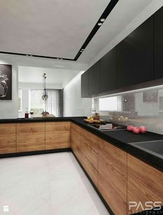 Modern Kitchen Interior Remodeling Lovely Modern Kitchen Cabinet Design Ideas 23 - If you want to rebuild your kitchen, then you must pay an extra attention towards the kitchen cabinets. Kitchen Room Design, Best Kitchen Designs, Kitchen Cabinet Design, Modern Kitchen Design, Home Decor Kitchen, Rustic Kitchen, Interior Design Kitchen, New Kitchen, Home Kitchens