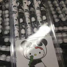 Hello Kitty panda pens