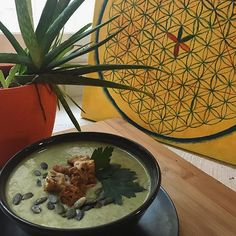 """Vegan Café Inspiratsioon serves vegan food from appetizers to desserts and drinks. Try traditional Estonian potato salad or enjoy the house""""burger"""". House Burger, Vegan Food, Vegan Recipes, Vegan Cafe, Potato Salad, Restaurants, Appetizers, Traditional, Drinks"""