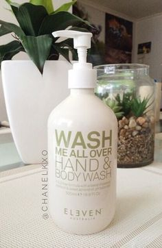 ELEVEN Australia Hand and Body Wash Free Hair, Body Wash, Calgary, Cruelty Free, Hair Care, Hair Beauty, Australia, Pure Products, Bar