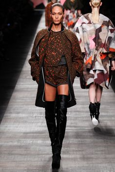 Fall 2014 Ready-to-Wear - Fendi. What else would you consider wearing while hunting?
