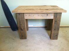 Rustic Barn Board Bench