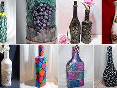 20 идей декора бутылок своими руками. Декор бутылок — это интересно, красиво и не дорого! Сделали подборку как новых идей 2018 года, так и добавили старые идеи. Поделки своими руками, а тем более из бутылок — это классно!