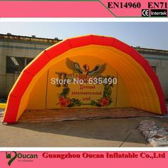 899.00$  Watch now - http://alij3x.shopchina.info/go.php?t=32214182337 - Free shipping  6mx5m  inflatable tent Inflatable exhibition tent advertising tent 899.00$ #buyininternet