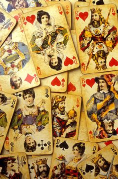 Old Playing Cards By Garry Gay/