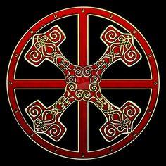 Sun cross -Thor's shield