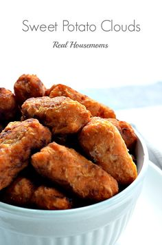 Sweet Potato Clouds | Real Housemoms | These are a bite of Heaven!