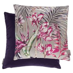 Amazilia Cushion Collection by Harlequin. #interiordesign #harlequin #amazilia #fabric #cushion #malcolmfabrics